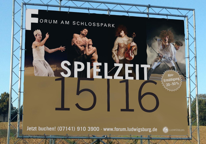 Langenstein Portfolio: Forum Spielplan - Plakat