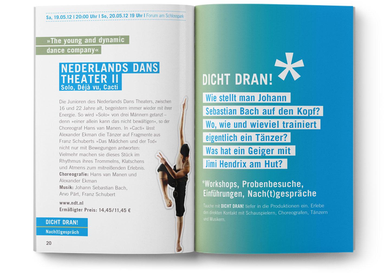 Langenstein Portfolio: Forum Spielplan für junges Publikum