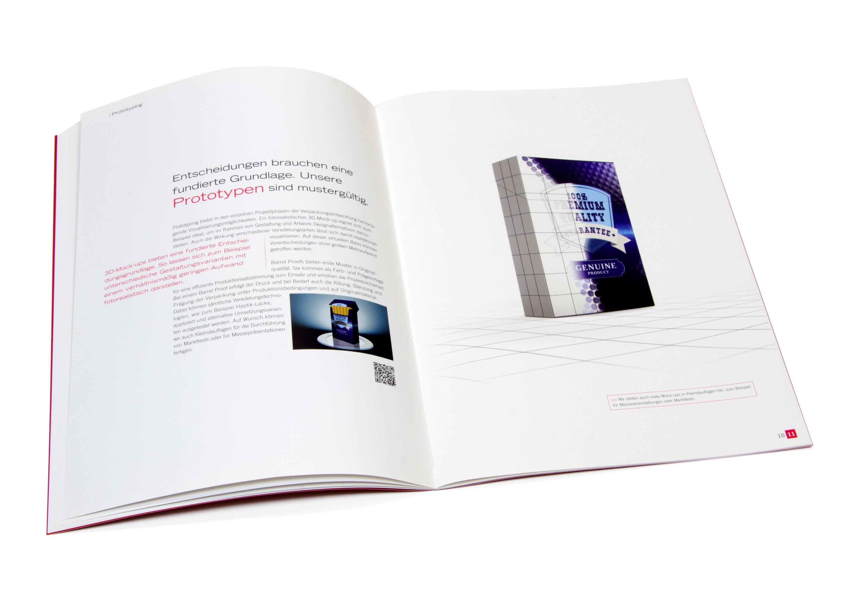 Langenstein Markencases: 4Packaging Broschüre