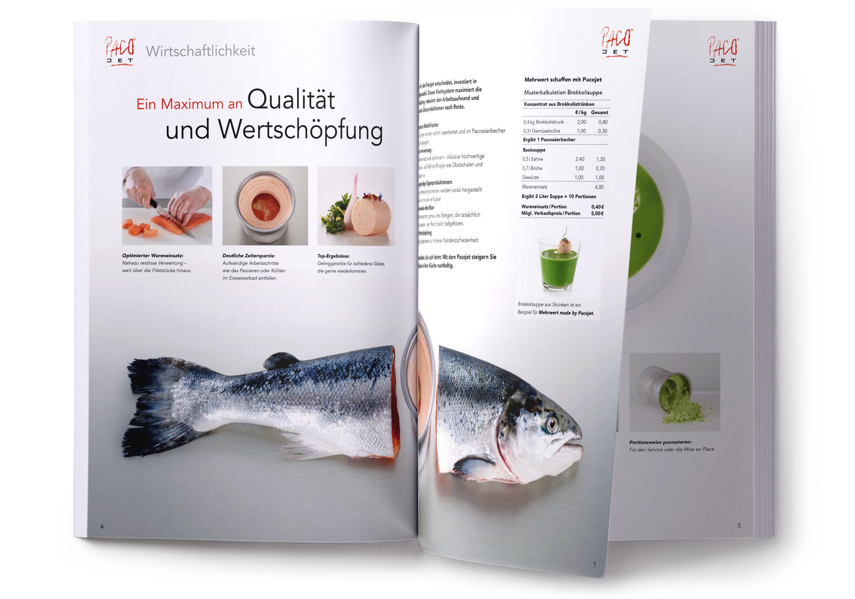 Langenstein Portfolio: Pacojet Broschüre