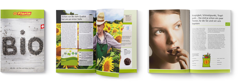 Langenstein Markencases: Florin Bio Broschüre