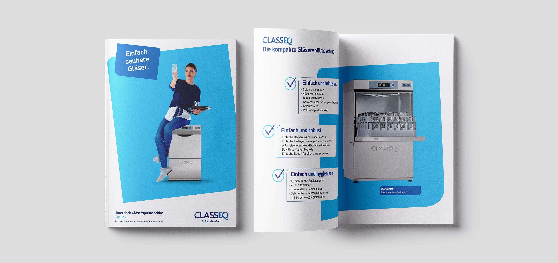 Langenstein Portfolio: Classeq Broschüre